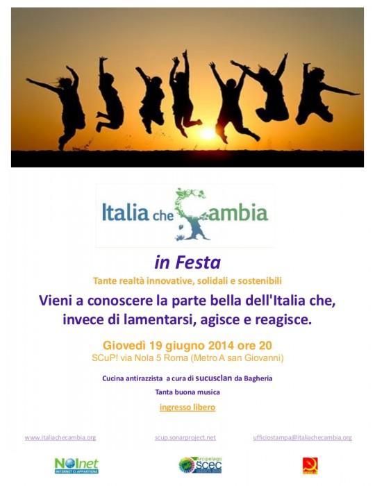 Italia che Cambia in festa